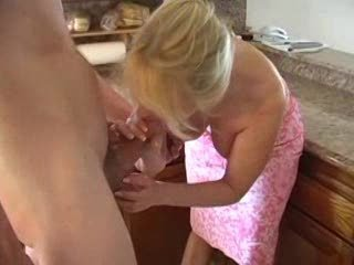 Blowjob Kitchen