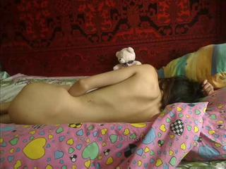 Russian Skinny Sleeping Teen