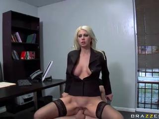 Jazy Berlin drilled by James Deen