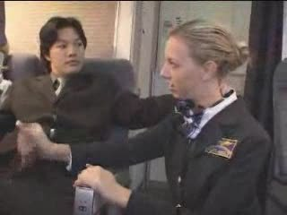 American Stewardess Handjob - Loyalty 2