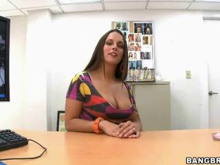 Big Tits Casting  Office Pov