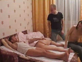 Amateur Gangbang For Sleeping Mom