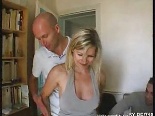 Amateur Blonde Cuckold Gangbang  Wife