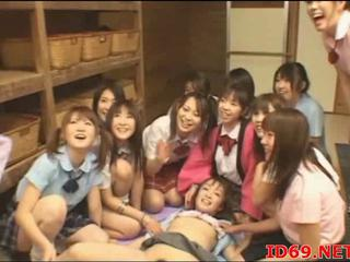 Japanese teen hairy twat ramming
