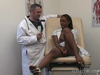 The Genyco S Taking Keeping Of Young Ebony Brunette