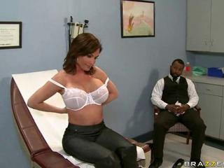 Big Tits Doctor Interracial Lingerie  Pornstar