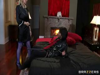 Hot busty milf gets fucked by massive cock