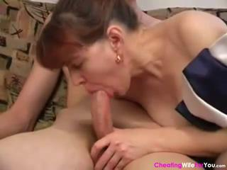 Quiet shy housewife fucking younger guy by psk28x