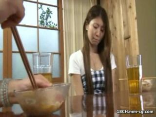 Young Slutty Japanese Housewife Makes Love With Her Hunky Hubby