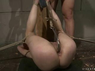 Hot redhead getting punished by reno78