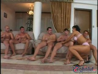 Dirty Brunette Hoe Gang Banged Hard Sex Tubes