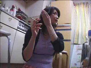 Asian Kitchen  Smoking Wife