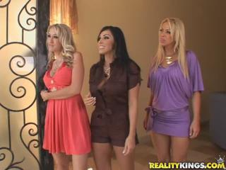 Alana Evans, Veronica Rayne And Brianna Beach Tease A Cock Sex Tubes