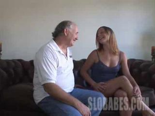 Amateur Casting Daddy Old and Young Teen