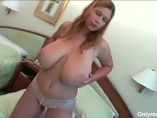 Big Busty Terry Has Natural Tits And Sucks His Cock For A Load