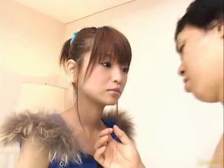 Flapper Dressed Aoi Amamiya Uses Pink Sex Tubes