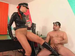 Latex bitch sex & foot amulet Sex Tubes