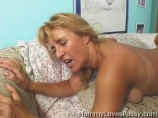Blonde Doggystyle Mature