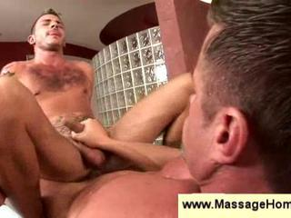 Jerking cock while fucking in the ass Sex Tubes