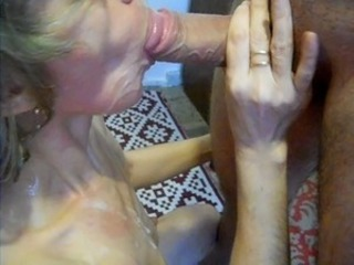 Amateur Blowjob Cumshot Homemade Mature Swallow Wife