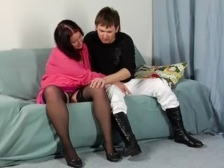 Russian Stockings Teen Upskirt