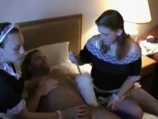 Jerked By Maids