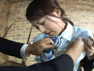 Asian Bondage Fetish Teen Uniform