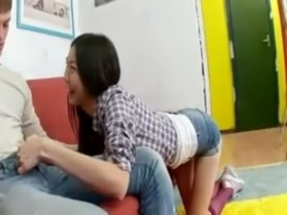 Asian Interracial Skinny Teen