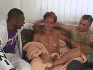 3some sex party close to grandmother