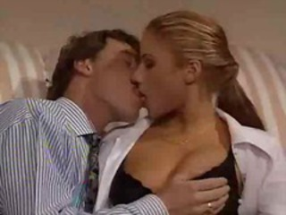 Babe Big Tits Blonde European Italian Kissing