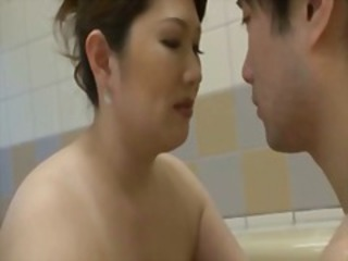 Asian Bathroom Mom Older