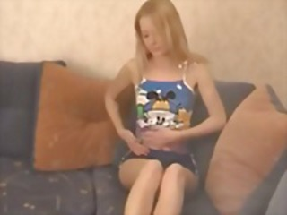 Amateur Russian Skinny Stripper Teen