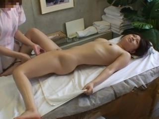 Asian HiddenCam Massage Teen Voyeur