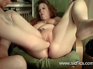 Bizarre housewife has her loose ass and pussy fisted and wrecked by her...