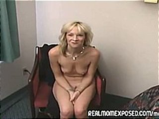 Blonde Mature  Small Tits