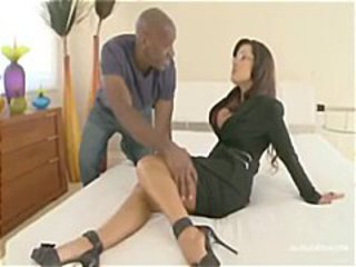 Amazing Glasses Interracial Legs Man MILF