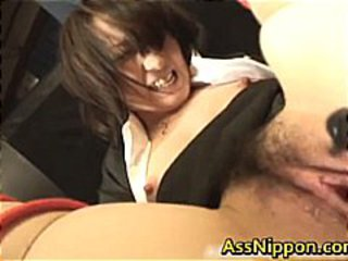 Asian Dildo Hairy