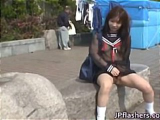 Asian Outdoor Teen Upskirt