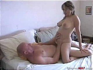 Amateur Homemade Mature Older Riding Wife