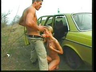Blowjob Car German Outdoor Vintage
