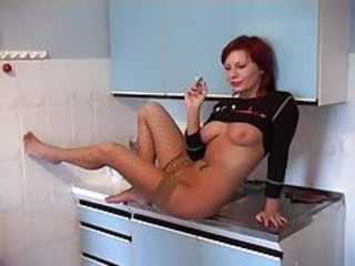 European Kitchen  Smoking Stockings