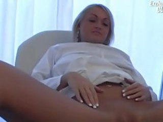 Their way pussy is closely examined in doctor video tubes