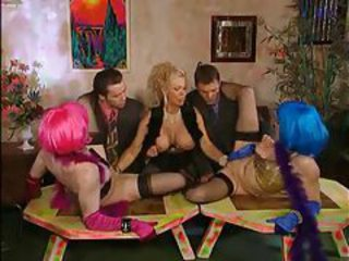 Fisting Groupsex  Stockings