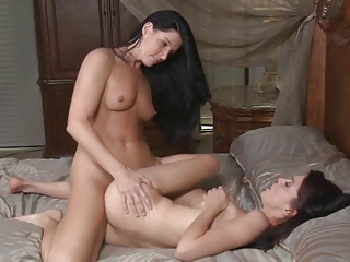 Red Hot MILF Gets Off With Cute Teen