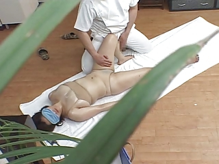 Asian Massage  Voyeur Wife