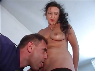 Amateur European German Licking Mature Old and Young