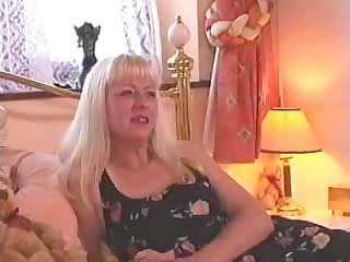Amateur Blonde British European Mature Wife
