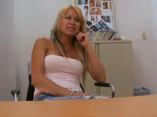Casting Mature Office Pov