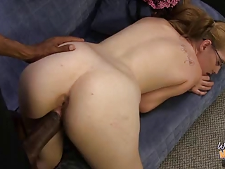 White mom and not her daughter fucked by BBC