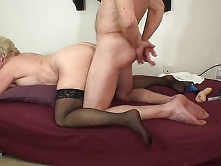 Amateur Doggystyle Mature Stockings